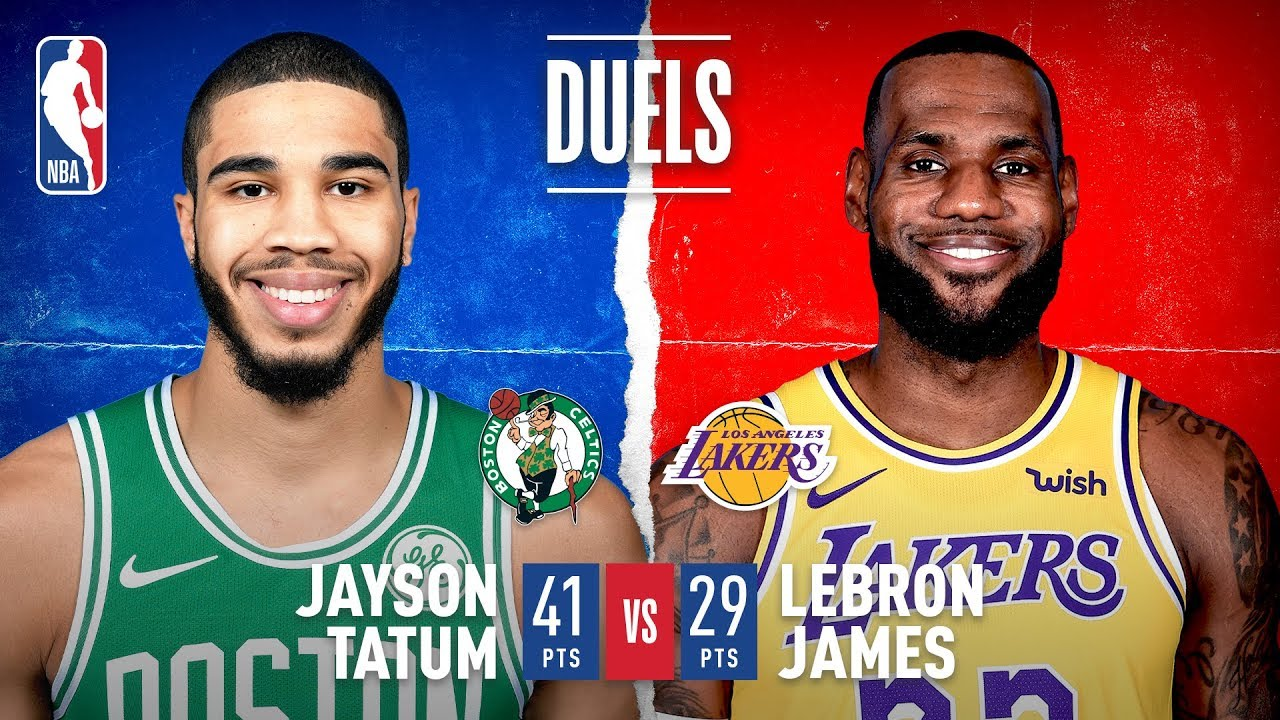 Tatum & LeBron Duel In L.A.