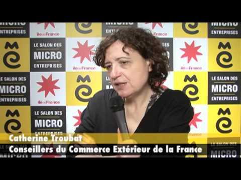 Catherine troubat au salon des micro entreprises 2011 youtube - Salon des micro entreprise ...