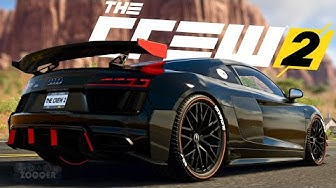 AUDI R8 V10 Plus Tuning - The Crew 2