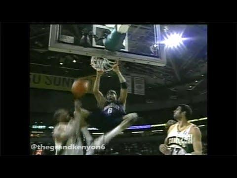 2003/04 Regular Season Game #13 Nets @ SuperSonics 1st Half Highlights (YES)