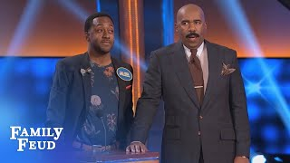 Life's mysteries explained #27... What is a BOOTY TOOTY... | Celebrity Family Feud | OUTTAKE