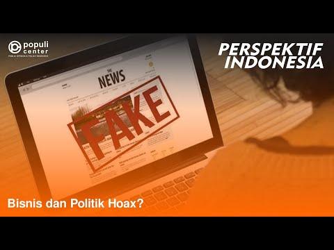 """Perspektif Indonesia: """"Bisnis dan Politik Hoax?"""" - 26 Agustus 2017"""