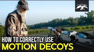 How to Attract MORE DUCKS with Motion Decoys while Duck Hunting | John Godwin