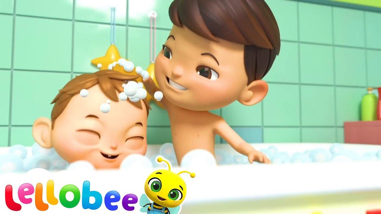 Bath Song   BRAND NEW!   + More Nursery Rhymes & Kids Songs   Little Baby Bum   Cartoons For Kids