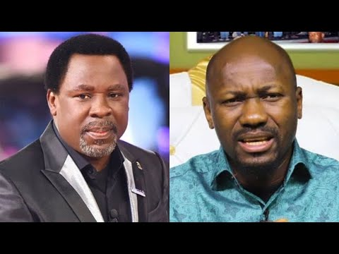 Download Johnson Suleman denies predicting death after TB Joshua died
