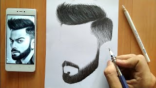 How I Draw Hairs | Step by step