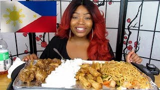trying filipino food for the first time