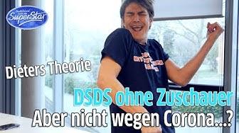 Deutschland sucht den Superstar nicht wegen Corona ohne Zuschauer: Dieter Bohlen alias Matze Knop