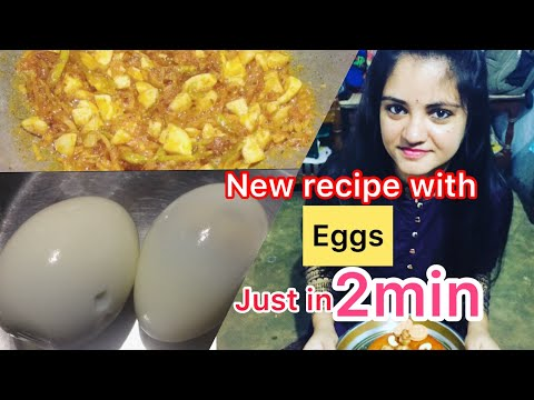 Easy New Recipe With Eggs Ll How To Make New Recipes With Boiled Eggs/Crazy Recipe Vt Crazy Malavika
