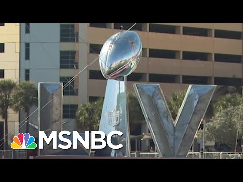 Super Bowl Party Fears Highlight Persistent Fears Of Getting The Covid Vaccination | MSNBC