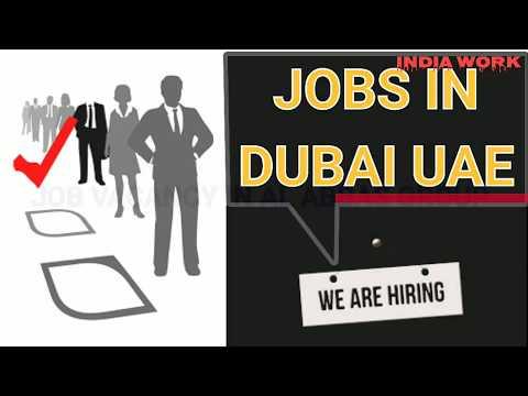 Jobs Vacancy Opening in Dubai