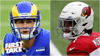 Jared Goff vs. Kyler Murray: Which former No. 1 pick do you trust more? | First Take