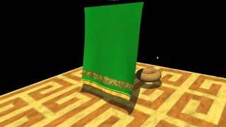 Cloth Simulation Opengl