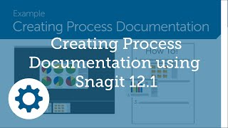 Creating Process Documentation using Snagit 12.1