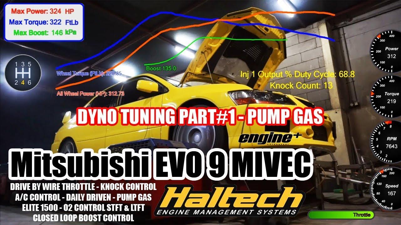 Mitsubishi EVO 9 Drive By Wire - Haltech Elite 1500