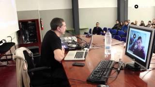 Presentación y Masterclass Yo Dj, II en IFP Verge de la Merçè en Barcelona