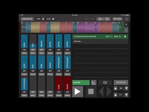 Using Backing Tracks with LoopCommunity Prime App Tutorial