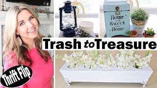 Thrift Store Makeover ⭐ Trash to Treasure
