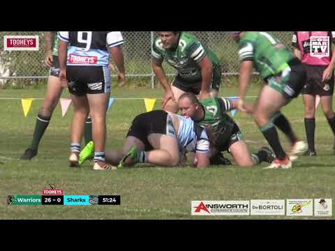 2019 Central Coast RL Open Grade Round 6 Highlights - Northern Lakes Warriors vs Terrigal Sharks