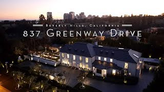 $33 MILLION Beverly Hills Estate | 837 Greenway Drive, Beverly Hills, CA 90210