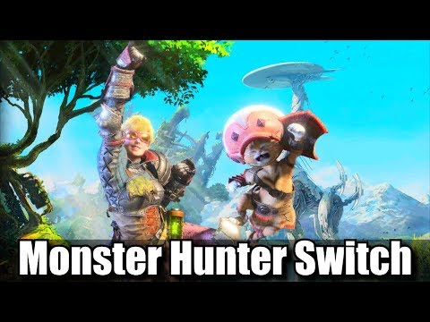 Capcom Talks Monster Hunter World & Nintendo Switch