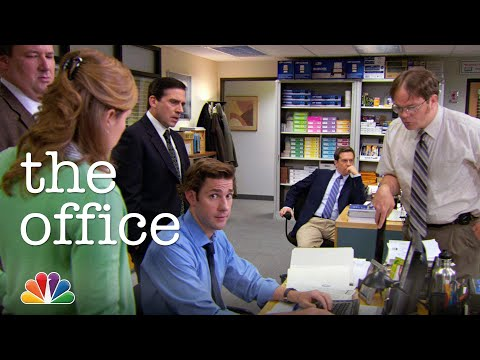 The Office Tries To Remember A Password - The Office