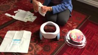 Potette Plus 2 in 1 Potty Review  GoAnyWhereToilet.com