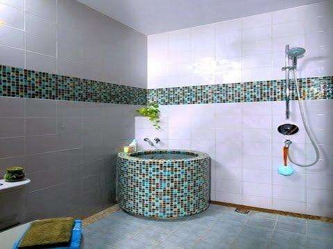 Desain dekorasi kamar mandi minimalis kecil mungil for Dekorasi kamar
