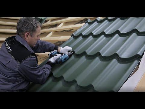 Exemplu De Montaj Tigla Metalica Cu Suruburi Ascunse Si Sistemul Pluvial | RoofArt