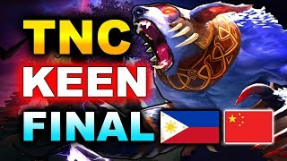 TNC vs KEEN - GRAND FINAL - PHILIPPINES vs CHINA - WESG 2019 DOTA 2
