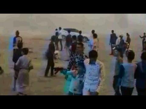 فيديو: بشكل مجنون.. تفاحيط ومفحطين مجانيين في قلب العاصمة صنعاء