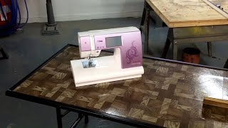 Sewing table for my wife