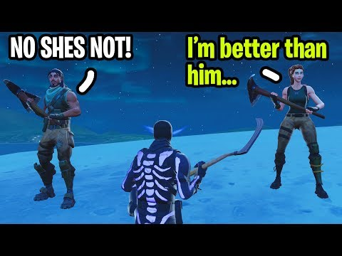 I played with the Bullied Kid and his Girlfriend on Fortnite