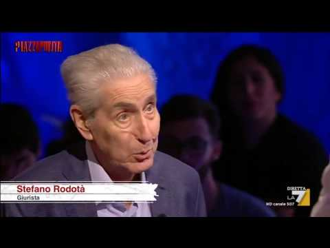 Stefano Rodotà: Perchè voto NO - Piazza Pulita 20 ottobre 2016
