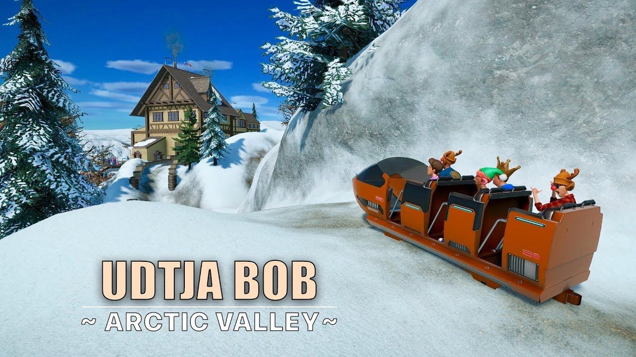 Planet Coaster: Udtja Bob [bobsleigh coaster]