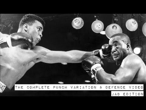 THE COMPLETE PUNCH VARIATION & DEFENCE VIDEO - JAB EDITION