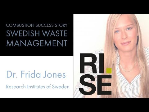 Combustion Success Story in Swedish Waste Management