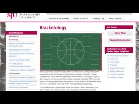Bracketology: Long Odds for the Perfect Pick