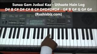 Download Hindi Video Songs - Humein Tumse Pyar Kitna Piano Notes - Tutorials