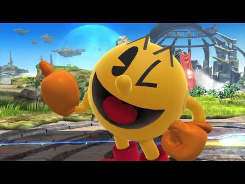 Pac-Man Reveal Trailer For Super Smash Bros. Wii U & 3DS