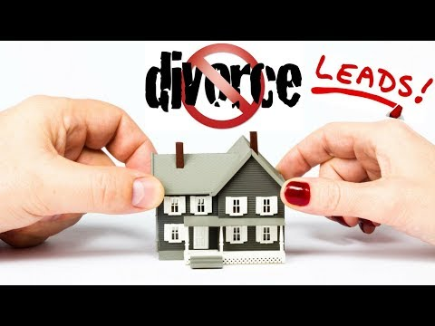 How to Generate Real Estate Divorce Leads - Seller Lead Generation!