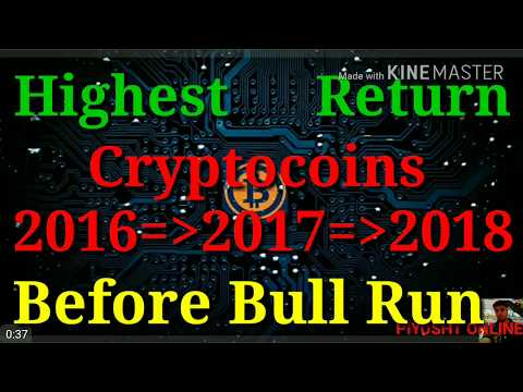 Crypto coins due for Bull run in 2018 - 10X Profit Crypto Coins 2018!