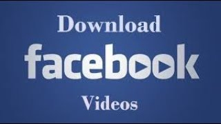 How to Download Facebook Videos  Pc or Laptop Directly