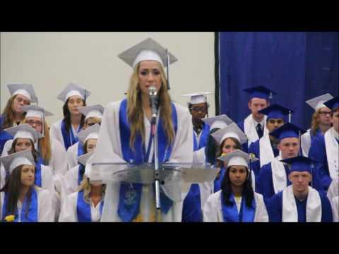 Valedictorian Tahni McGaughy - Elma High School
