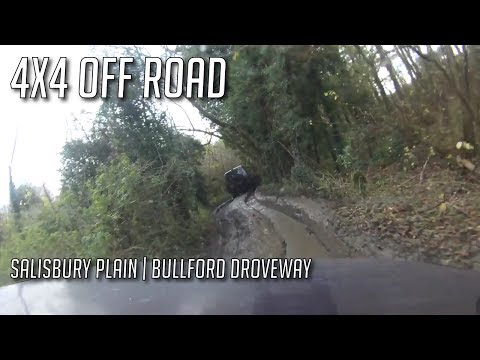 Best green lane on Salisbury Plain the Bullford Droveway