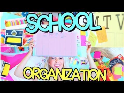 Организация Вещей Для Школы + Советы Для Учебы!