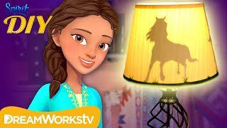 DIY Horse Silhouette Table Lamp | Spirit DIY