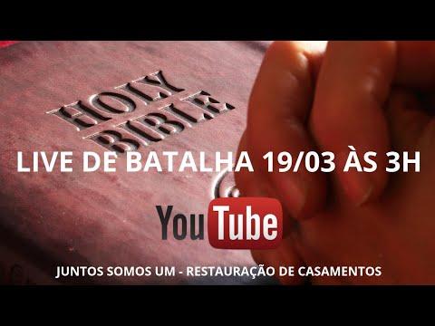 LIVE DE BATALHA - RESTAURAÇÃO DE CASAMENTOS