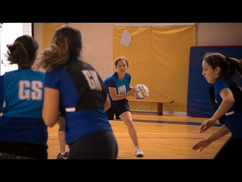 Israel's national netball team takes to the court in Scotland