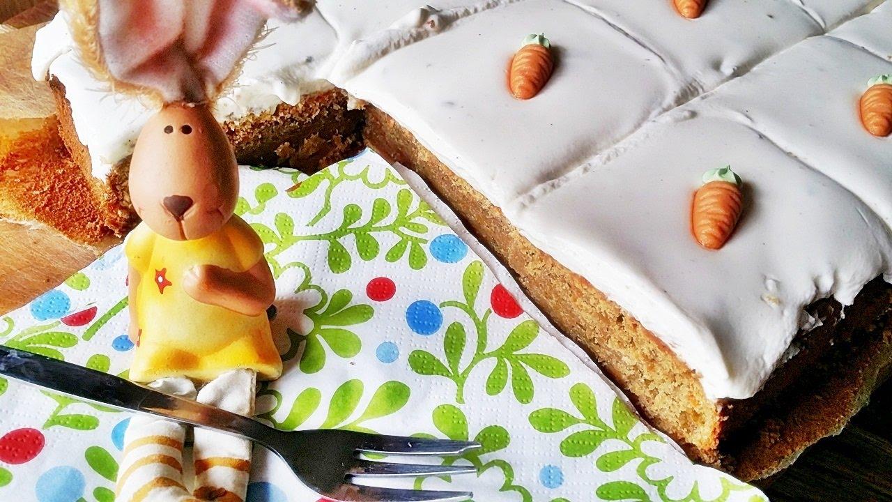 Rezept Mohren Kuchen Mit Frischkase Frosting Und Zuckermohren